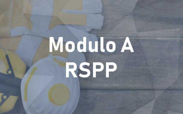 RSPP Modulo A