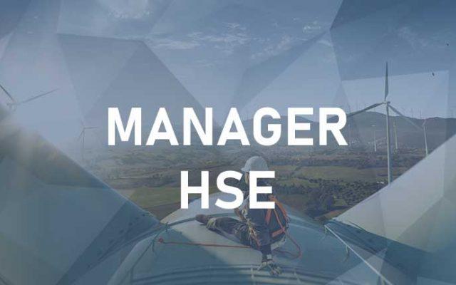 Manager HSE – Salute, Sicurezza e Ambiente