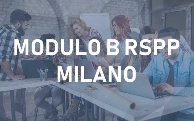 Corsi RSPP Moduli B – Milano