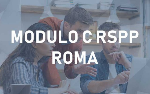RSPP Modulo C – Roma