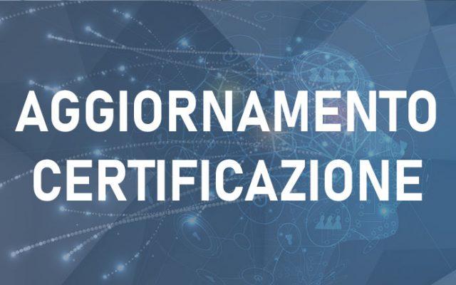 Aggiornamento per mantenimento certificazione DPO ACCREDIA/UNI