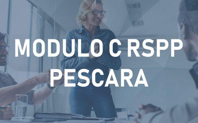 RSPP Modulo C – Pescara