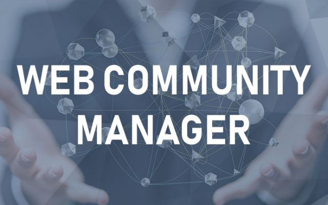 Web Community Manager