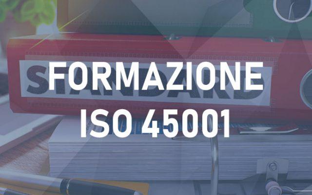 Corso Standard ISO 45001 Online E-learning