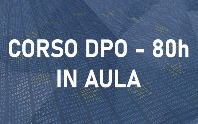 Corso DPO Aula Roma – Data Protection Officer