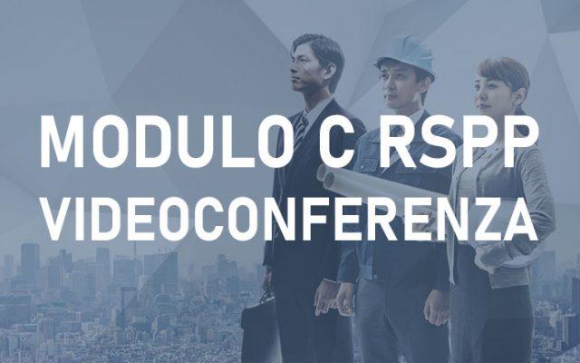 Corso RSPP / ASPP Modulo C Videoconferenza