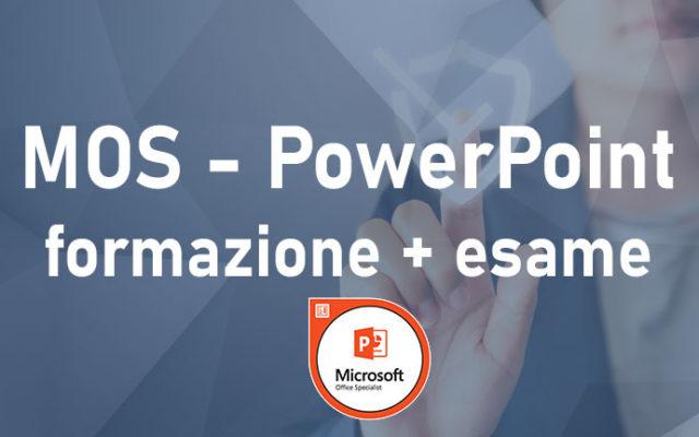 Powerpoint – Microsoft Office Specialist