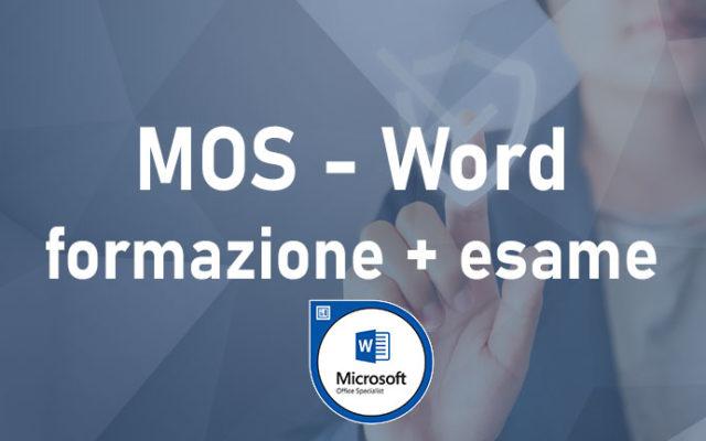 Word – Microsoft Office Specialist