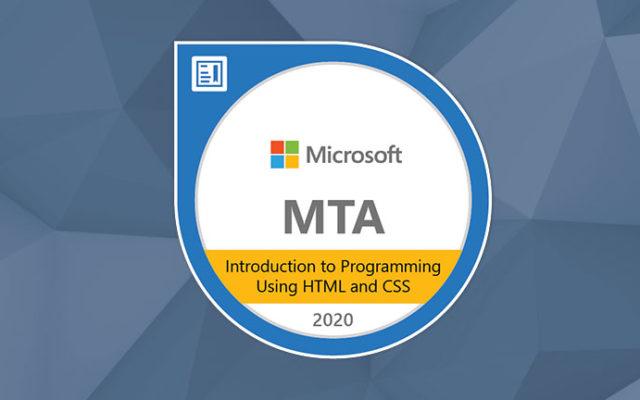 MTA – HTML e CSS – Exam 98-383
