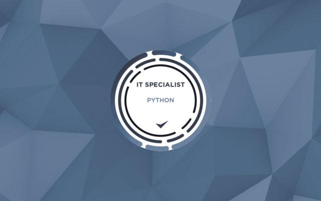IT Specialist – Python – Exam