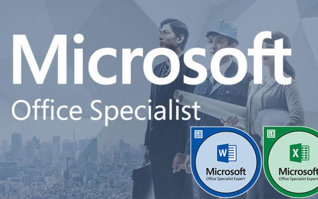 Microsoft Office Specialist Expert – MOS EXPERT