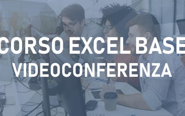 Microsoft Excel – Corso di formazione base in videoconferenza