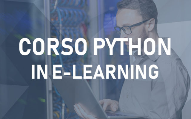 Corso di Python in e-learning