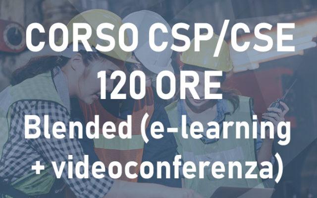 Corso CSP/CSE 120 ore