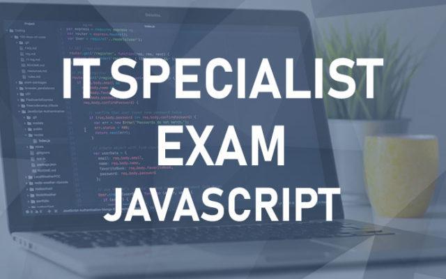 IT Specialist – Javascript